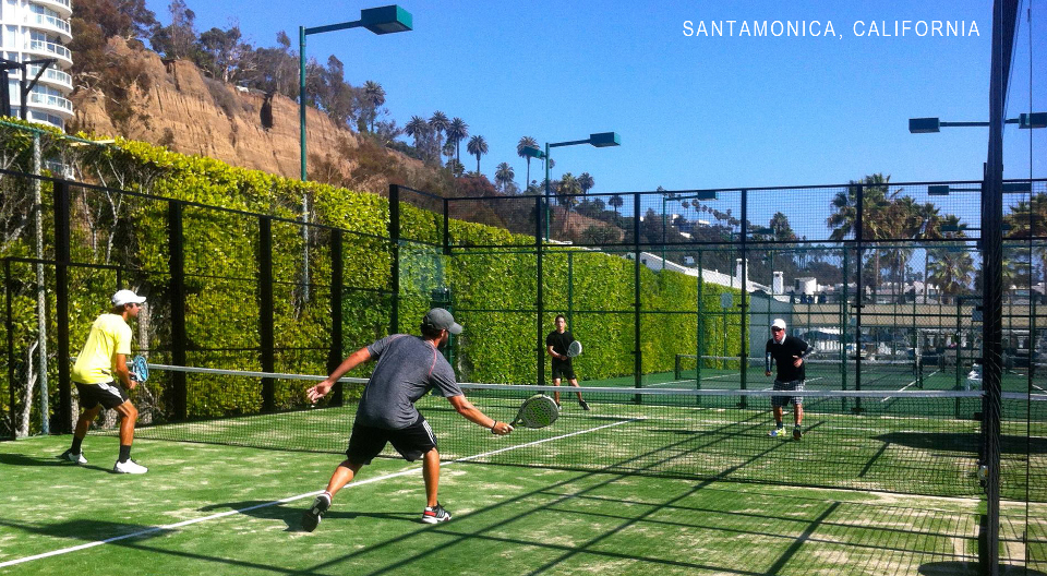 Padel court Santa Monica